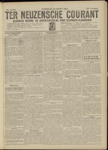 Ter Neuzensche Courant. Algemeen Nieuws- en Advertentieblad voor Zeeuwsch-Vlaanderen / Neuzensche Courant ... (idem) / (Algemeen) nieuws en advertentieblad voor Zeeuwsch-Vlaanderen 1942-03-25