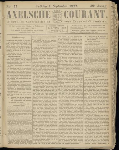 Axelsche Courant 1922-09-01
