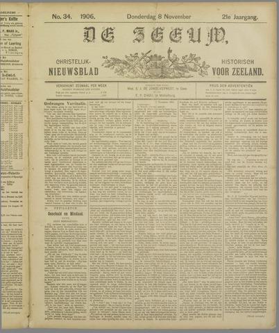 De Zeeuw. Christelijk-historisch nieuwsblad voor Zeeland 1906-11-08