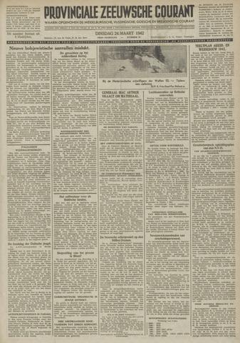 Provinciale Zeeuwse Courant 1942-03-24