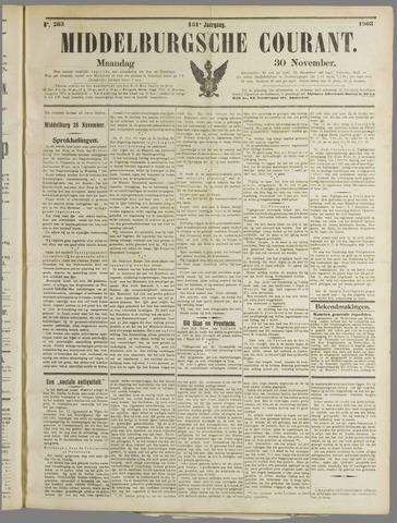 Middelburgsche Courant 1908-11-30