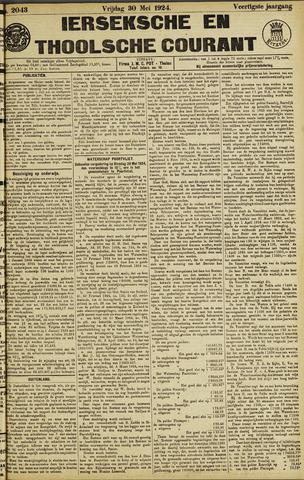 Ierseksche en Thoolsche Courant 1924-05-30