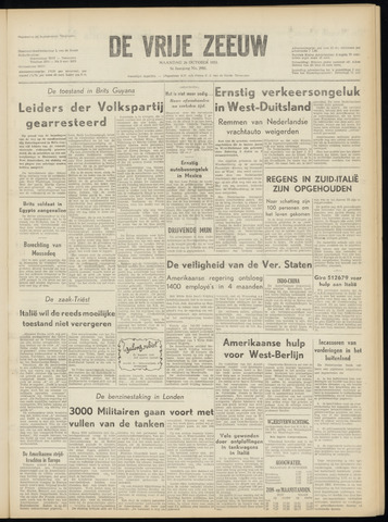 de Vrije Zeeuw 1953-10-26