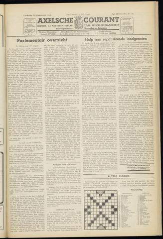 Axelsche Courant 1950-07-15
