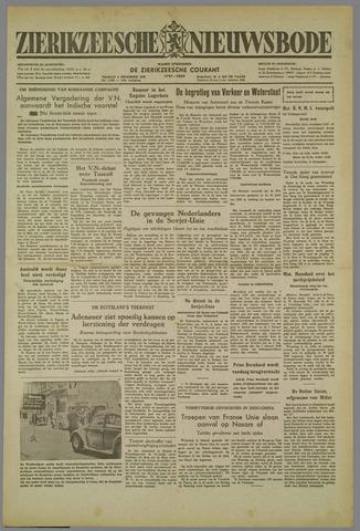 Zierikzeesche Nieuwsbode 1952-12-05