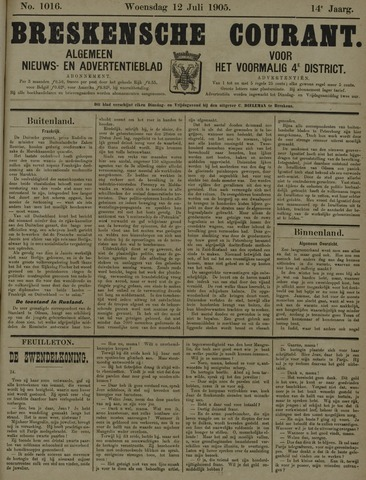 Breskensche Courant 1905-07-12