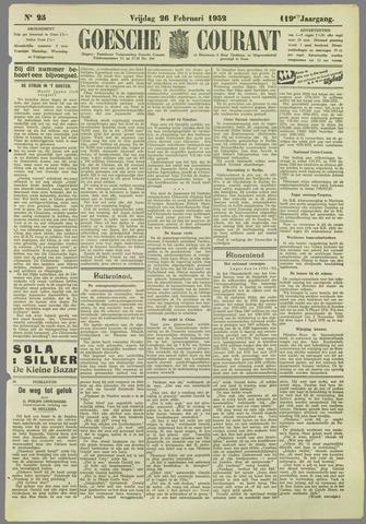 Goessche Courant 1932-02-26