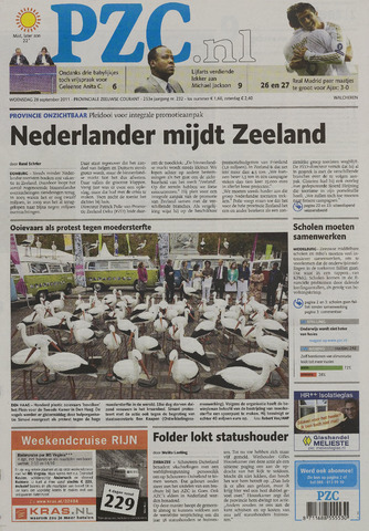 Provinciale Zeeuwse Courant 2011-09-28
