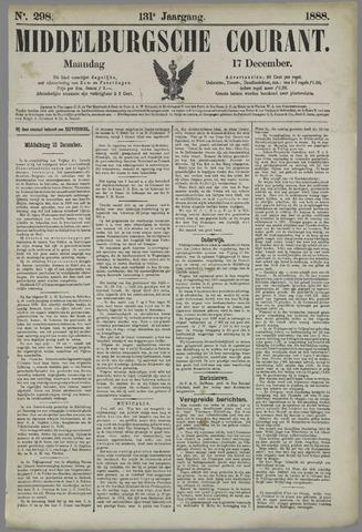 Middelburgsche Courant 1888-12-17