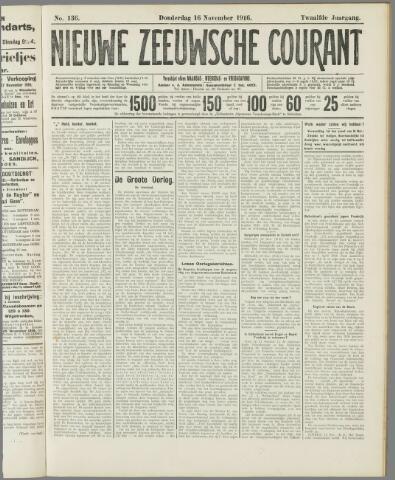 Nieuwe Zeeuwsche Courant 1916-11-16