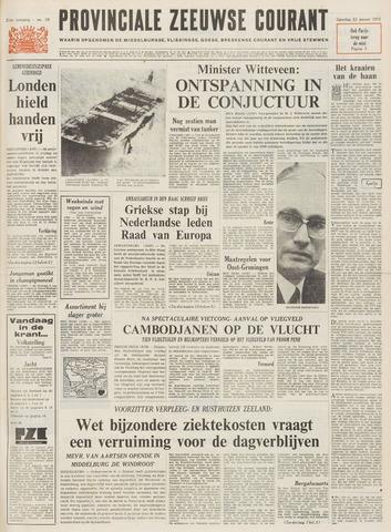 Provinciale Zeeuwse Courant 1971-01-23