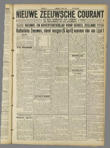 Nieuwe Zeeuwsche Courant 1927-04-05
