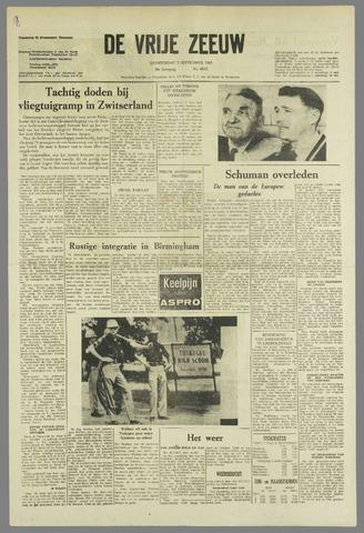 de Vrije Zeeuw 1963-09-05