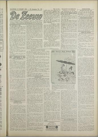 De Zeeuw. Christelijk-historisch nieuwsblad voor Zeeland 1943-03-29