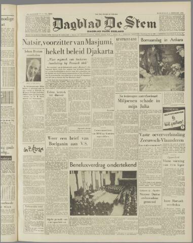 de Stem 1958-02-04