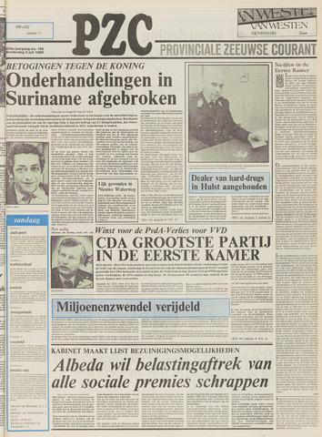 Provinciale Zeeuwse Courant 1980-07-03