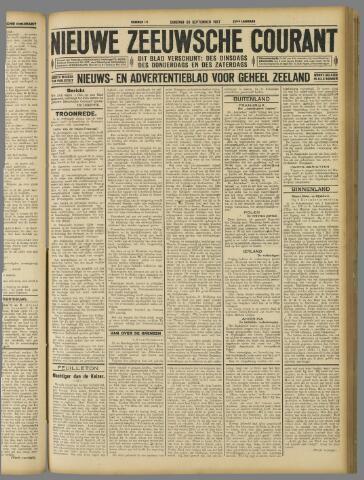 Nieuwe Zeeuwsche Courant 1927-09-20
