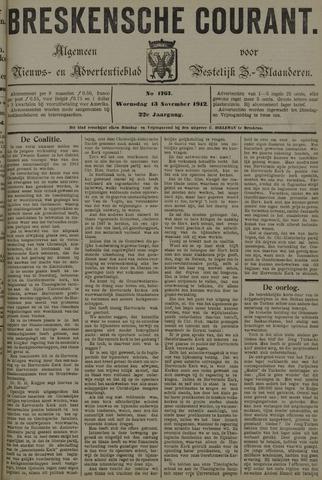 Breskensche Courant 1912-11-13