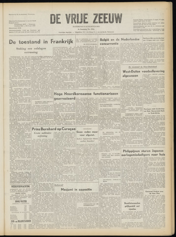 de Vrije Zeeuw 1953-08-08