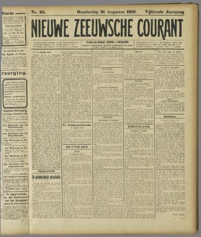 Nieuwe Zeeuwsche Courant 1919-08-21