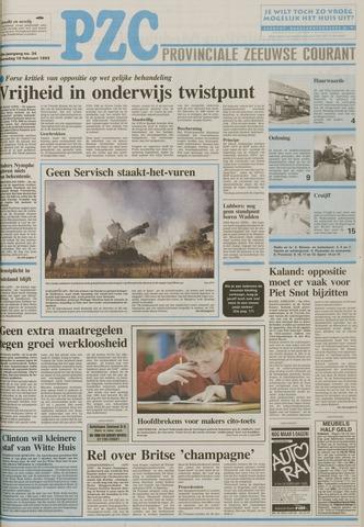 Provinciale Zeeuwse Courant 1993-02-10