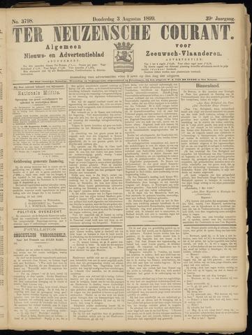 Ter Neuzensche Courant. Algemeen Nieuws- en Advertentieblad voor Zeeuwsch-Vlaanderen / Neuzensche Courant ... (idem) / (Algemeen) nieuws en advertentieblad voor Zeeuwsch-Vlaanderen 1899-08-03