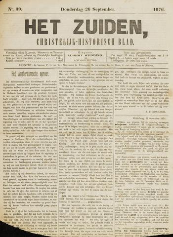 Het Zuiden, Christelijk-historisch blad 1876-09-28