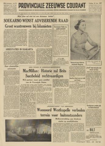 Provinciale Zeeuwse Courant 1957-01-18