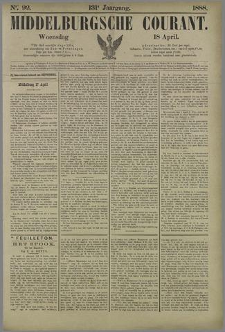Middelburgsche Courant 1888-04-18