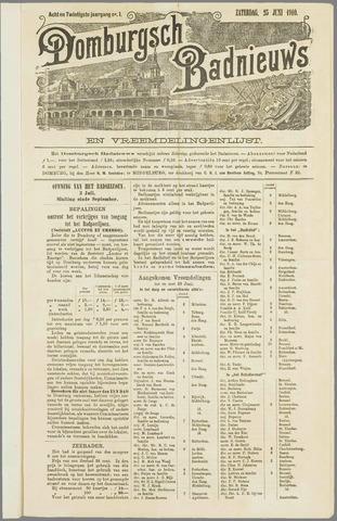 Domburgsch Badnieuws 1910