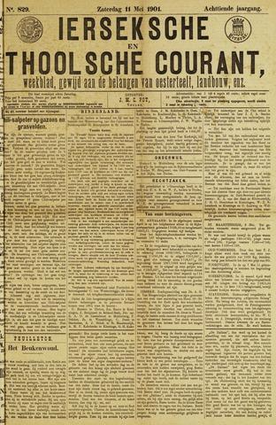 Ierseksche en Thoolsche Courant 1901-05-11
