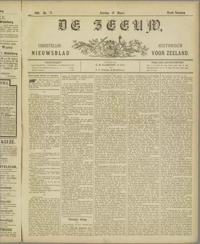 De Zeeuw. Christelijk-historisch nieuwsblad voor Zeeland 1896-03-14