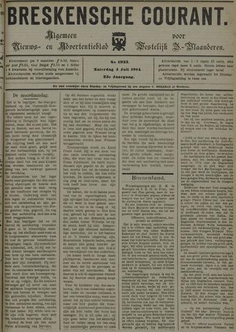 Breskensche Courant 1914-07-04