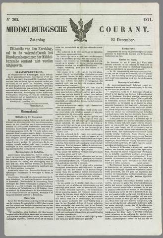 Middelburgsche Courant 1871-12-23