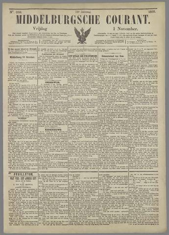 Middelburgsche Courant 1895-11-01