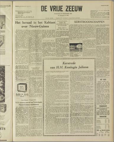 de Vrije Zeeuw 1961-12-27