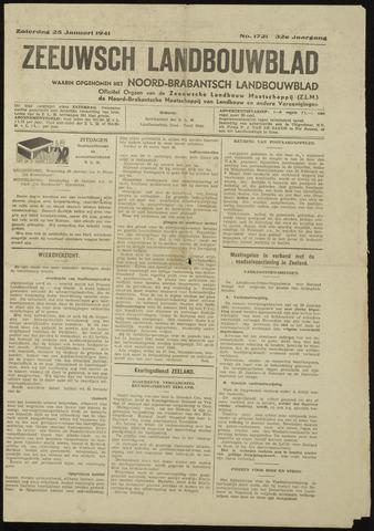 Zeeuwsch landbouwblad ... ZLM land- en tuinbouwblad 1941-01-25