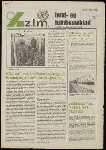 Zeeuwsch landbouwblad ... ZLM land- en tuinbouwblad 1982-01-08