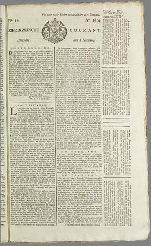 Zierikzeesche Courant 1814-02-08