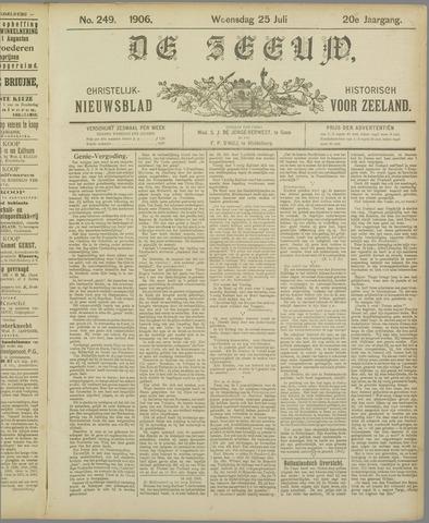 De Zeeuw. Christelijk-historisch nieuwsblad voor Zeeland 1906-07-25