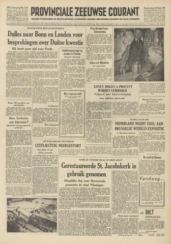 Provinciale Zeeuwse Courant 1954-09-16
