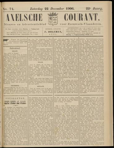 Axelsche Courant 1906-12-22