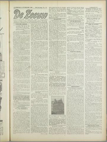 De Zeeuw. Christelijk-historisch nieuwsblad voor Zeeland 1944-02-19