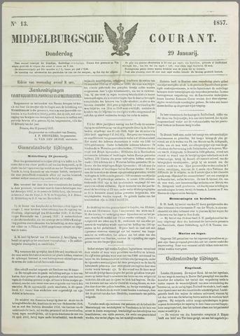 Middelburgsche Courant 1857-01-29