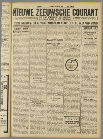 Nieuwe Zeeuwsche Courant 1930-01-11