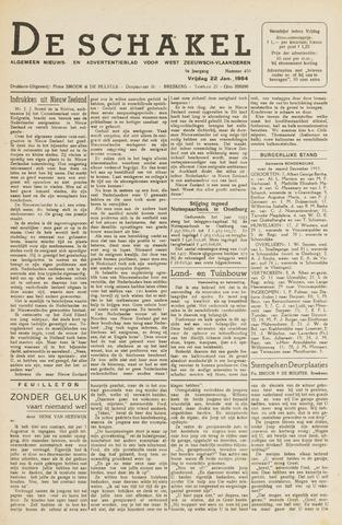 De Schakel 1954-01-22