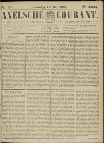 Axelsche Courant 1920-05-19