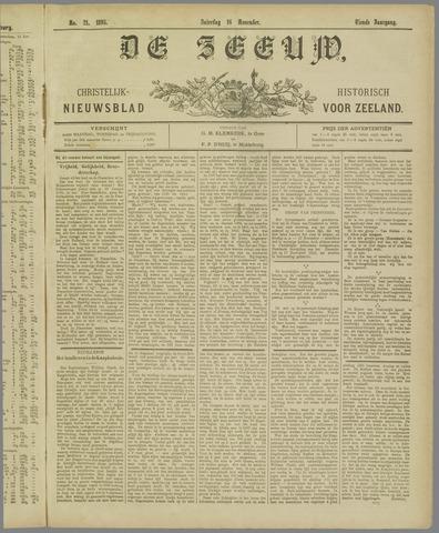 De Zeeuw. Christelijk-historisch nieuwsblad voor Zeeland 1895-11-16