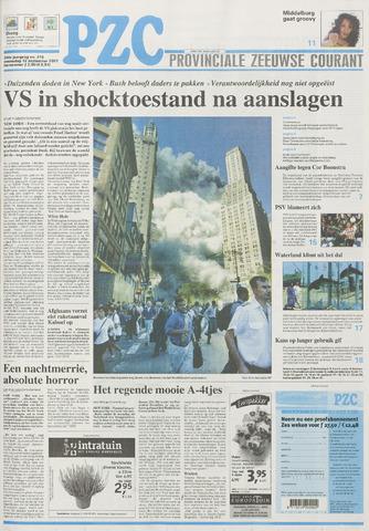 Provinciale Zeeuwse Courant 2001-09-12