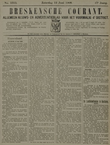 Breskensche Courant 1908-06-13